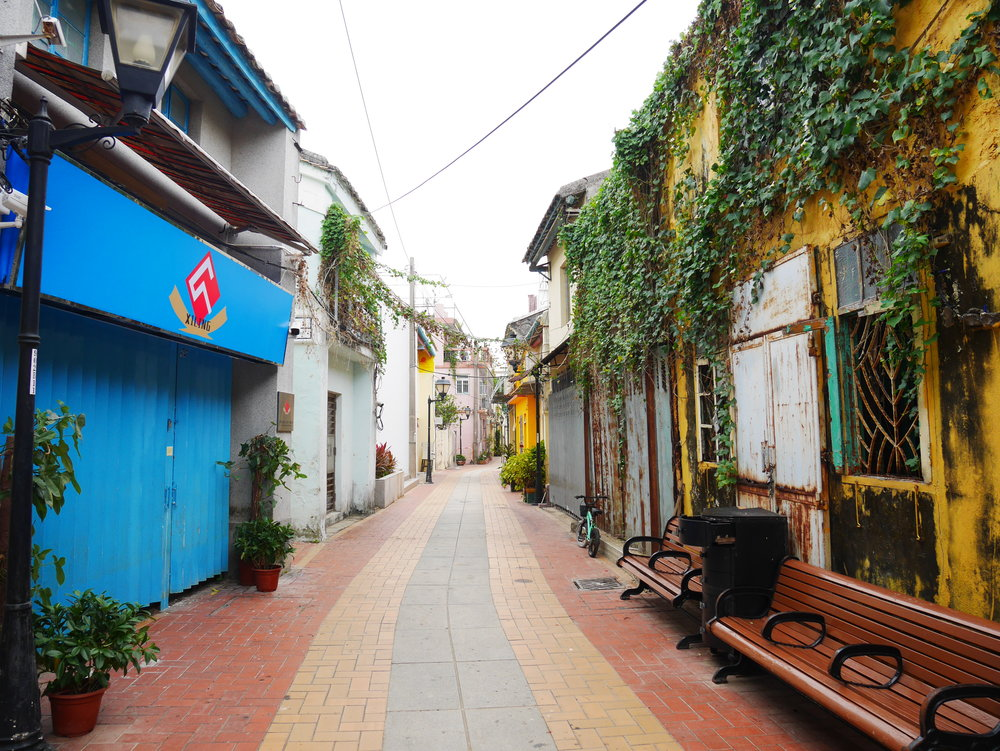 Old town, Coloane, Macao