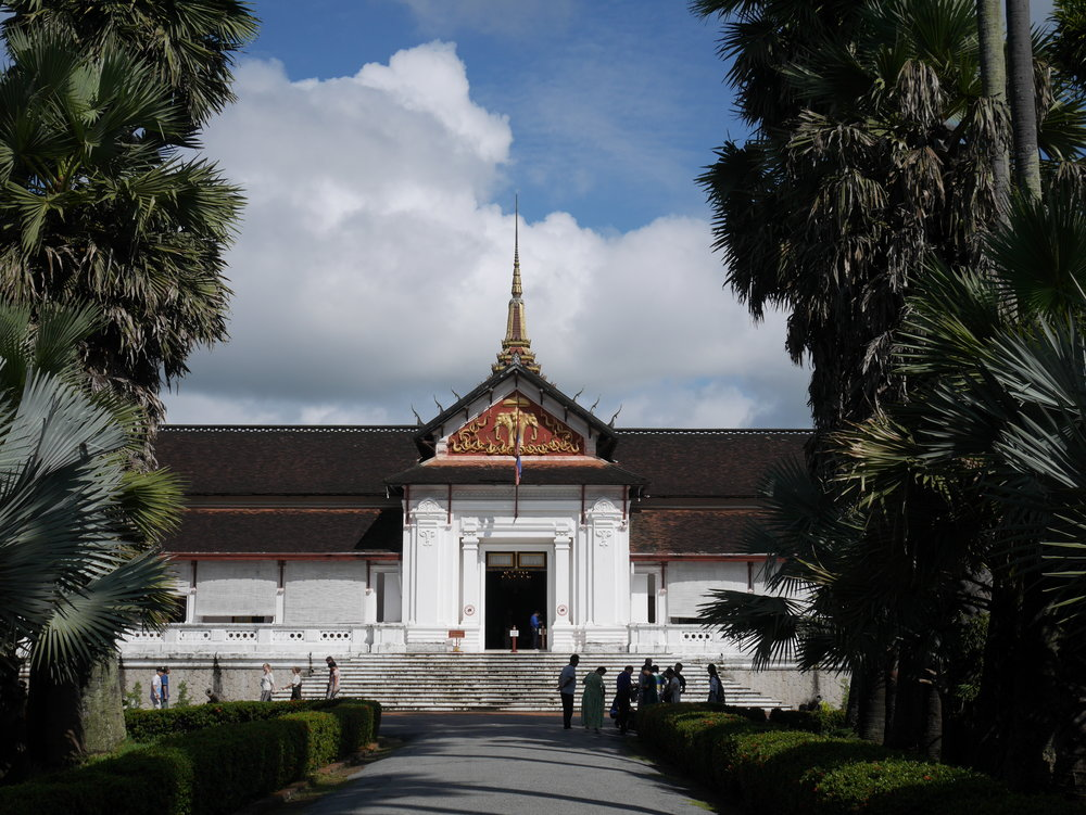 The Royal Palace in Luang Prabang, Laos is now home to the National Museum, which houses numerous royal artifacts