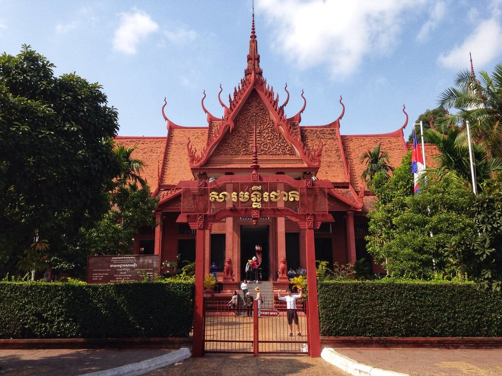 The National Museum of Cambodia in Phnom Penh holds one of the kingdom's best collections of ancient artifacts and treasures