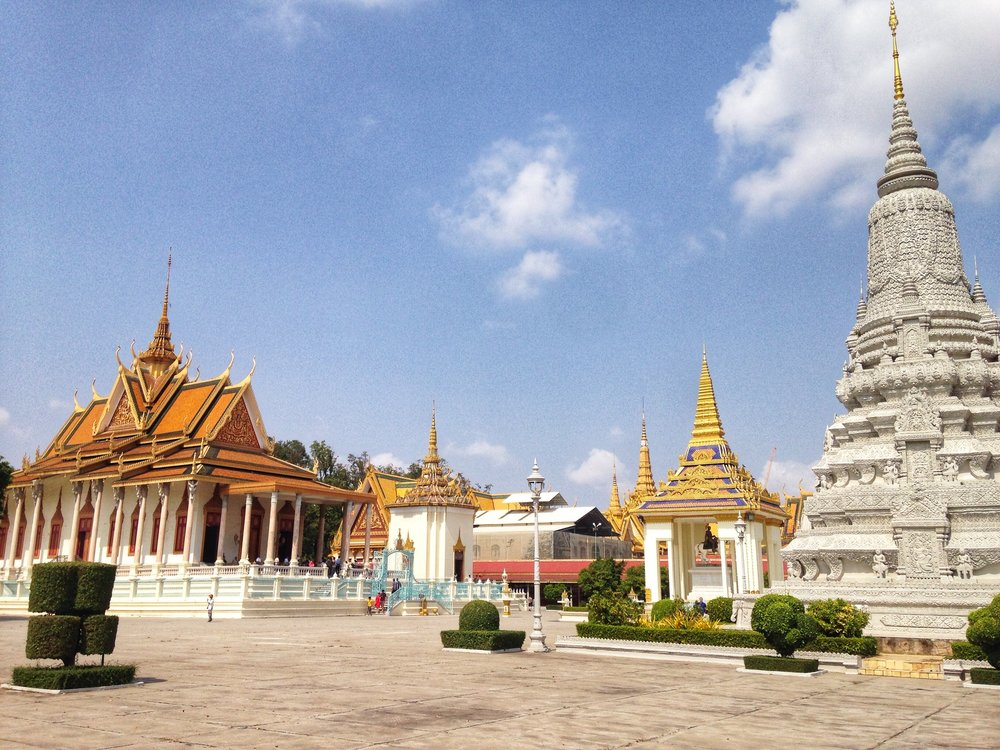 The Silver Pagoda at the Royal Palace, Phnom Penh, Cambodia