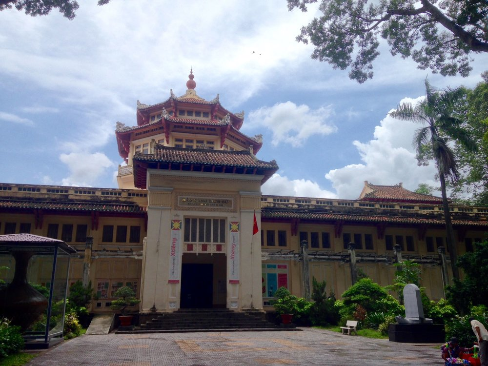 The Museum of Vietnamese History in Ho Chi Minh City is located next to the city zoo and botanical garden