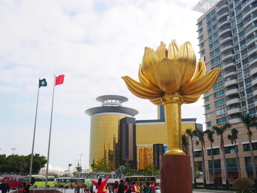 The Golden Lotus is the symbol of Macau Special Administrative Region