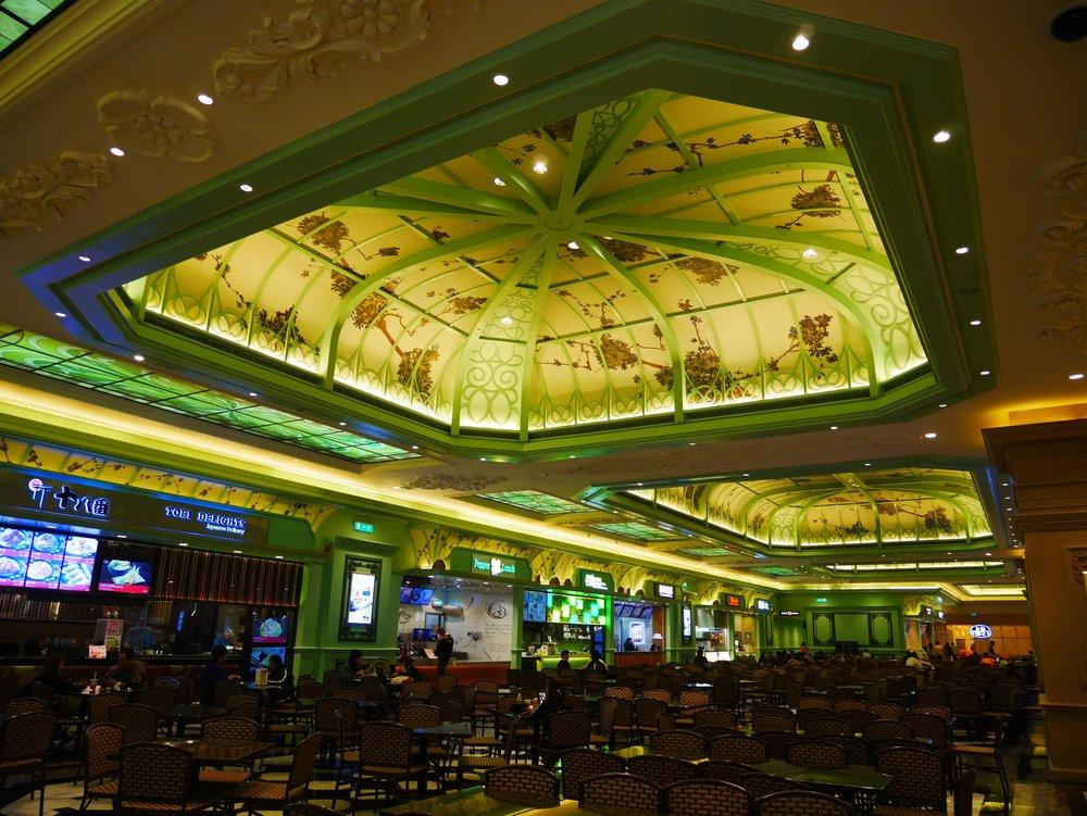 the food court at the Parisian Macau