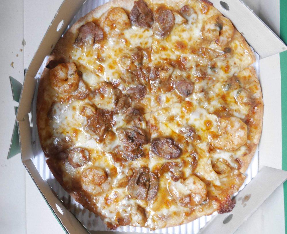 tom yum kung pizza thailand pizza company