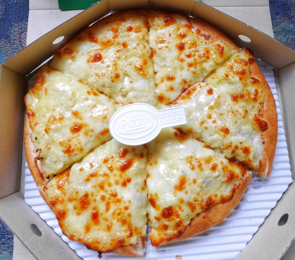 durian cheese pizza from thailand