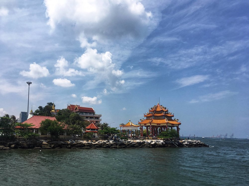 You can get to Koh Sichang by ferry from Siracha, Thailand