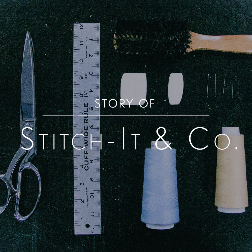 story of stitch it, visual of alteration tools