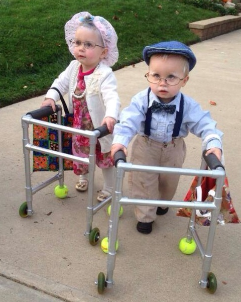 This is my favorite Halloween costume ever!!