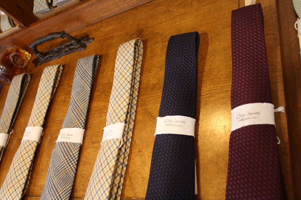 otis james bespoke neckties