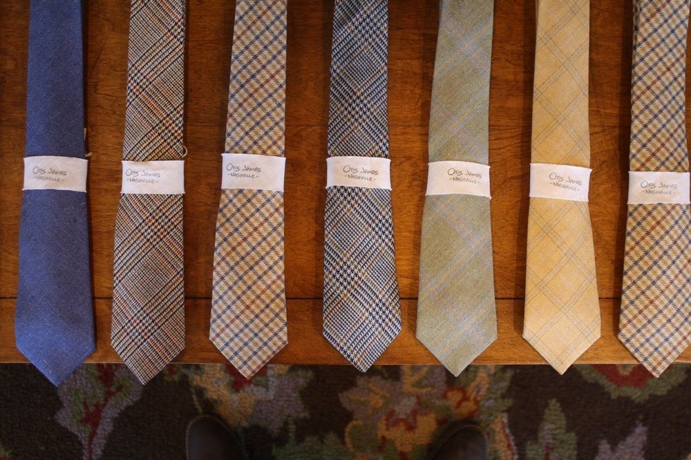 otis james bespoke ties