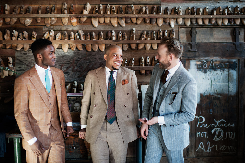 Stitch-it & Co custom suits at Peter Nappi