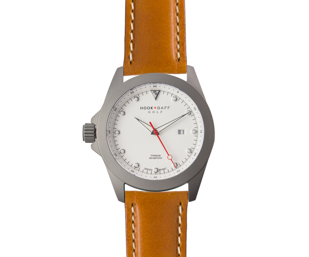 Golf Watch – White Dial