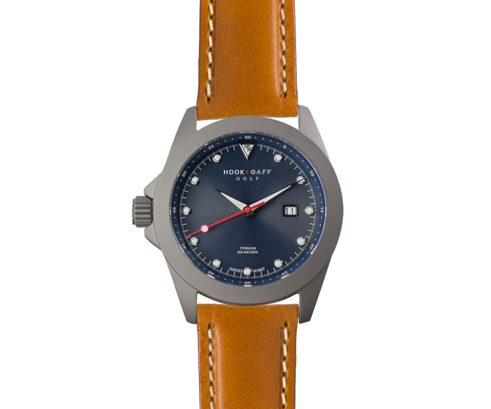 Golf Watch – Blue Dial