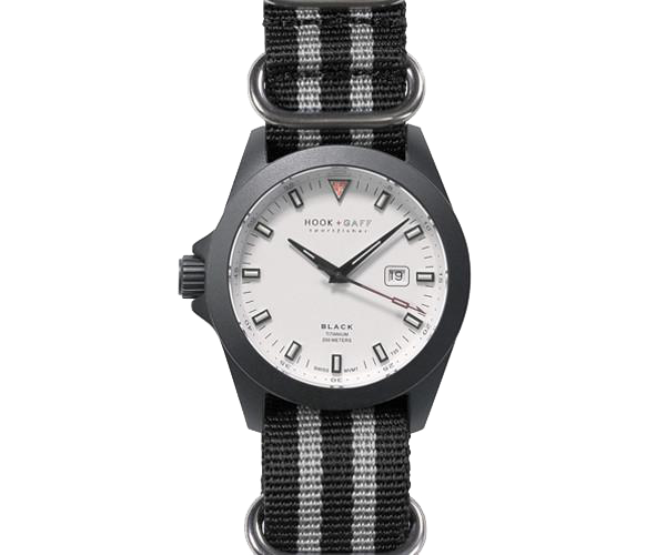 Sportfisher Black – White Dial