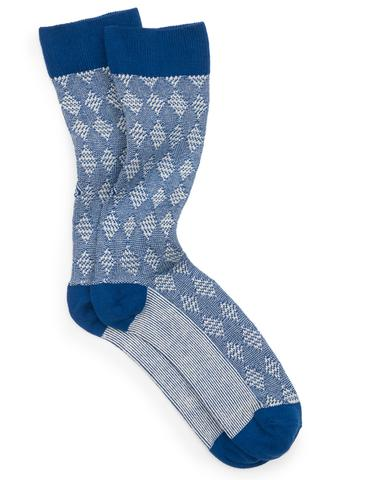 ace and everett holiday gift socks blue