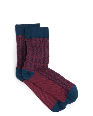 ace and everett christmas gift socks dark