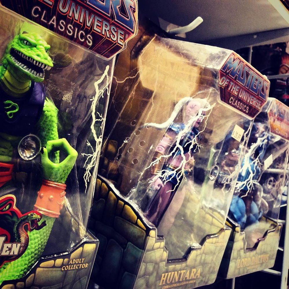 Just a small sample of our incredible selection of Masters of the Universe Classics!
