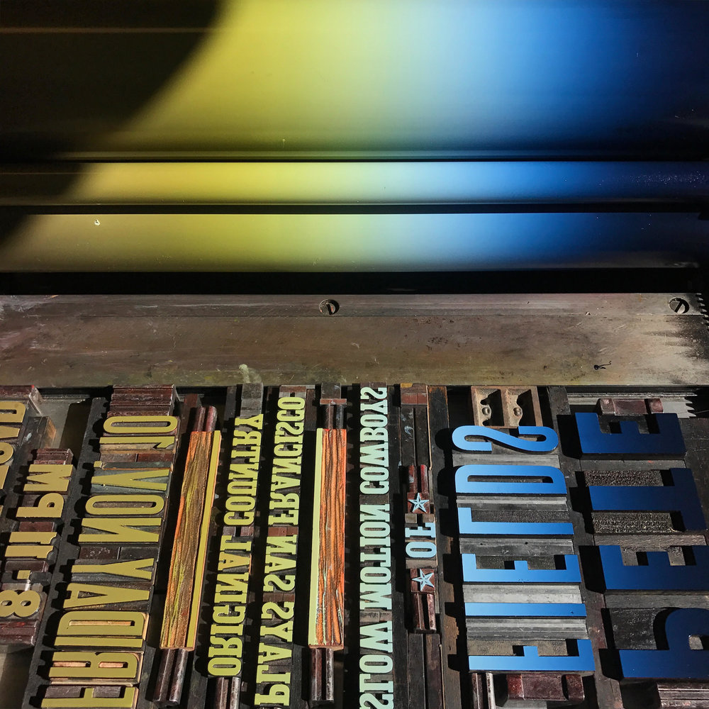 Introduction to Letterpress Workshop - Sunday, October 7th, 20189 AM - NoonPower and Light Press - 601 N. Bullard Street Unit FIn this workshop, participants will learn about the past and present history of wood type, set compositions of their own choosing, and learn to print using our vintage Showcard sign press or Challenge proof press. Each attendee will leave with a stack of 15 posters of their own design!This class will be taught by local printer Natalie Good and held at Power and Light Press.$50 per personAll materials will be provided!CLASS FULL!