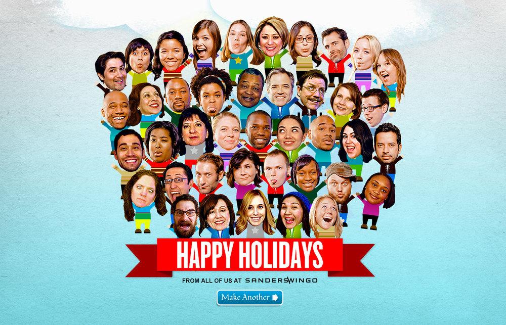 Agency: Holiday Card