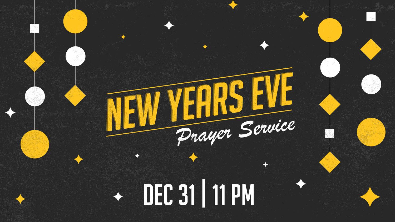 New Year Eve Prayer Service — Word Baptist Church