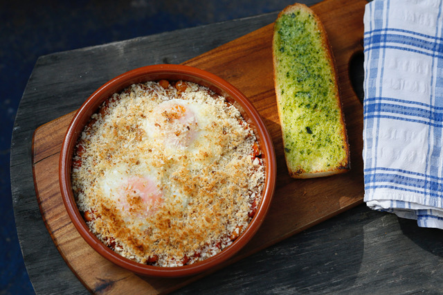 Breakfast Cassoulet - Hearty Breakfast meal for the cold winter days