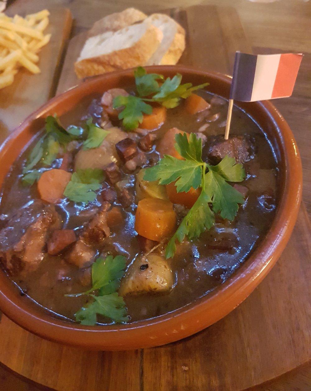 Beef Bourguignon -