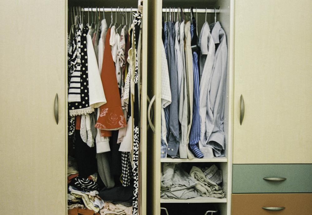 父母親的衣櫃