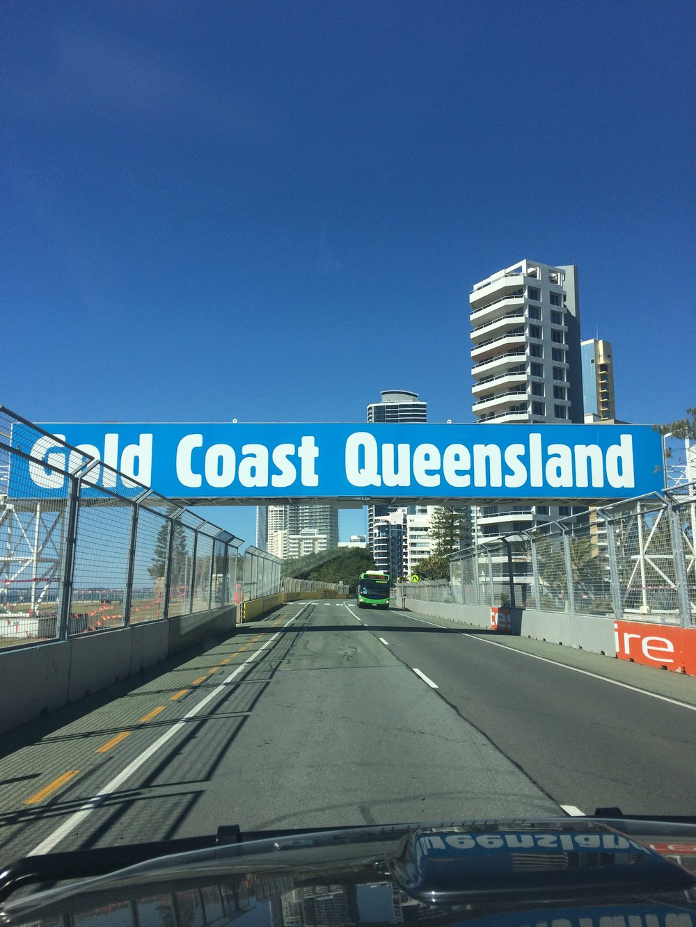 Prep for the Gold Coast 500