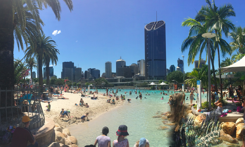 South Bank in Brisbane