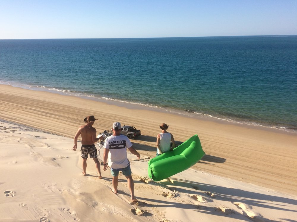 Surfing the Sand Dunes