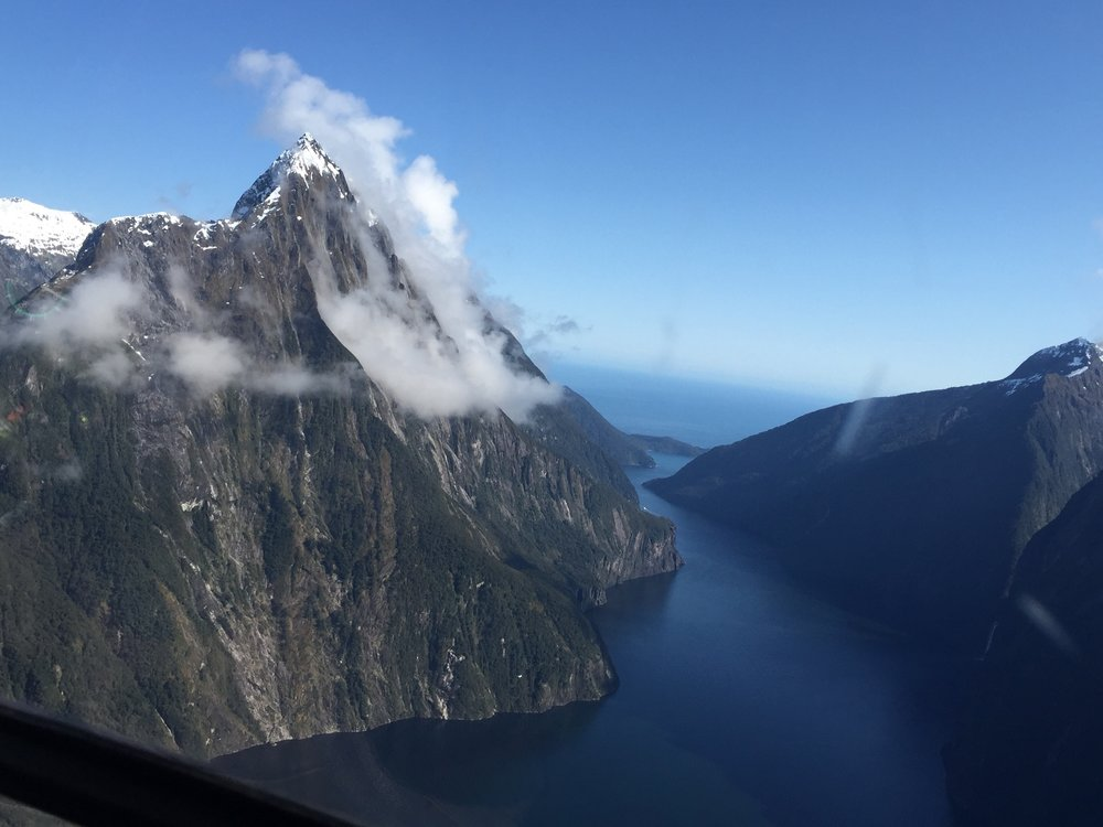 Heli Tour Over Milford Sound