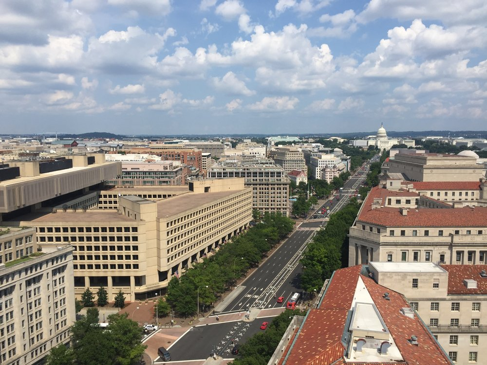View from the Post Office Tower... as seen in House of Cards