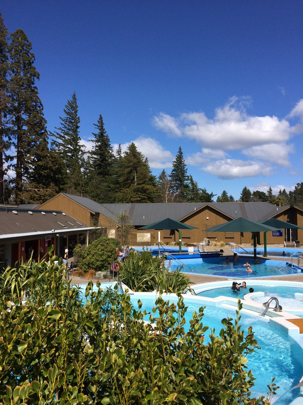 The Hot Pools in Hamner Springs