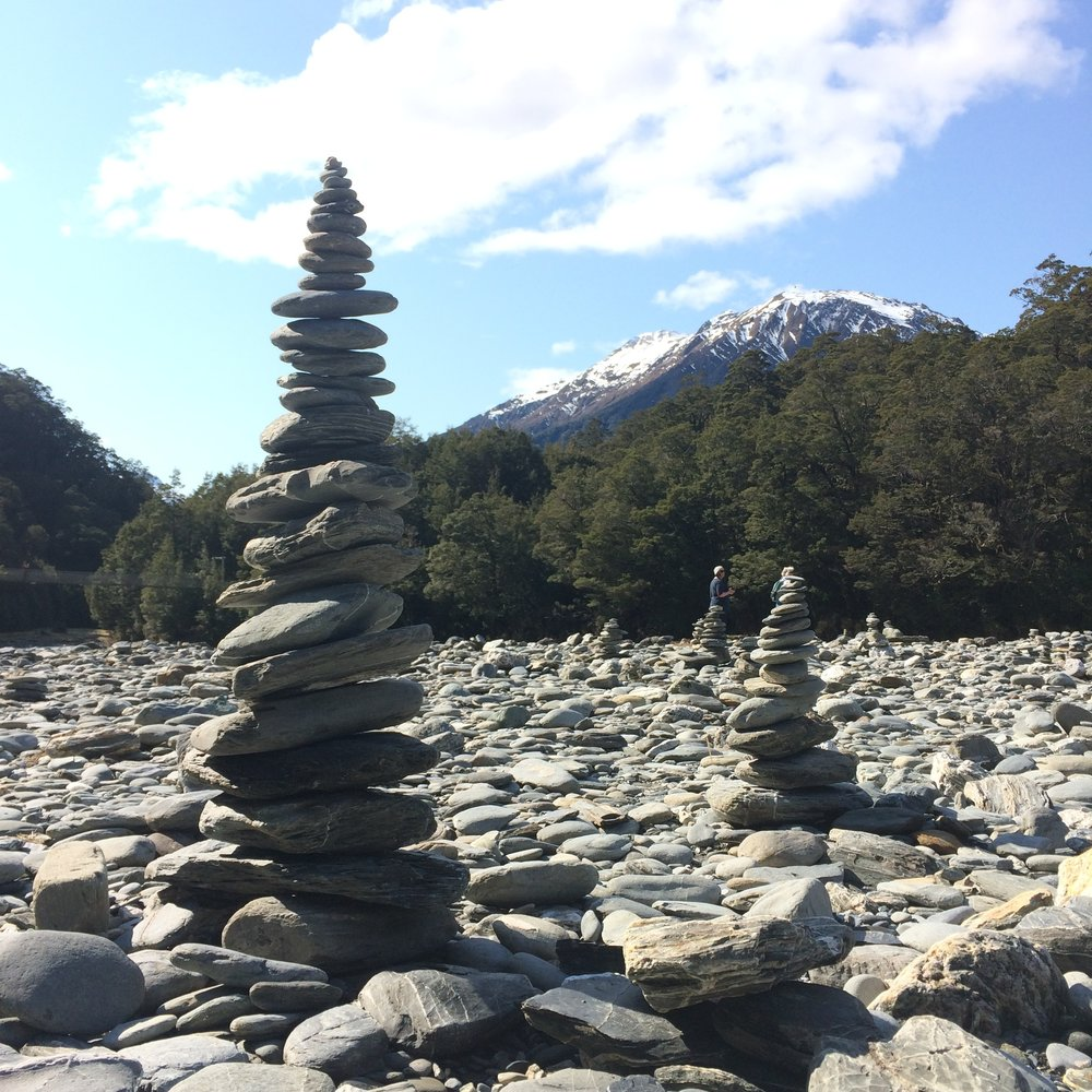 Cairns on the Shores
