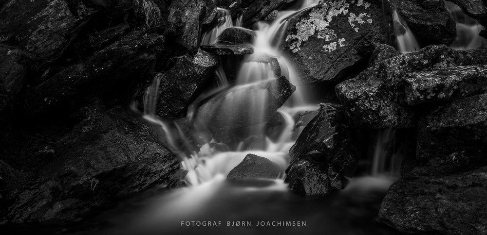 Naturfotokurs i Sørfold. Lær om hvordan du bruker lange lukkertider. ©Bjørn Joachimsen.