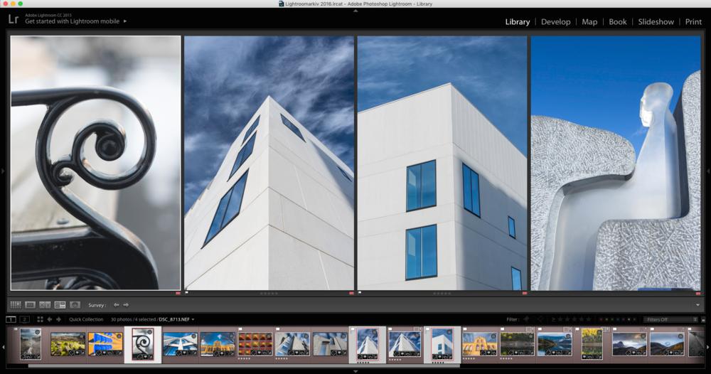Full kontroll over fotoarkivet med Lightroom. Lær hvordan du finner et hvilket som helst bilde i løpet av sekunder. ©Bjørn Joachimsen.