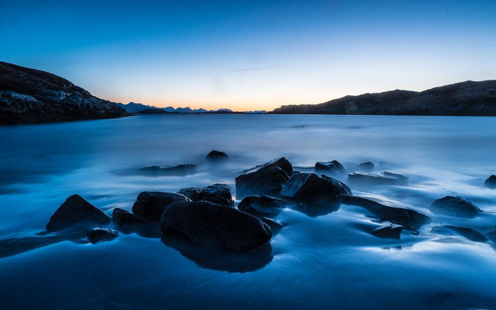 Fotoworkshop i arktisk lys [Sandøya]. ©Bjørn Joachimsen.