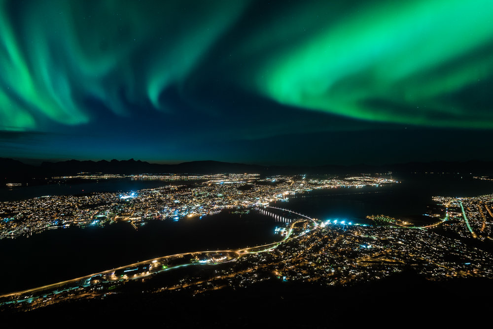 Seniorfotokurs. Lær hvordan du tar bilder i mørke og bilder av nordlyset. ©Bjørn Joachimsen.