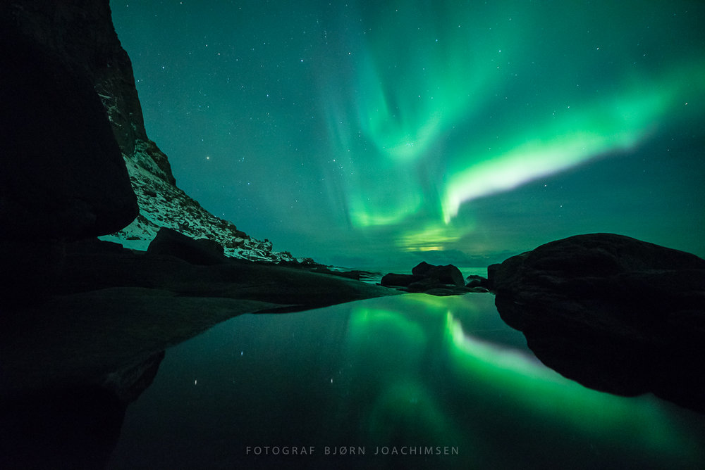 Workshop med mørketidsfoto og nordlysfoto i Lofoten. ©Bjørn Joachimsen.