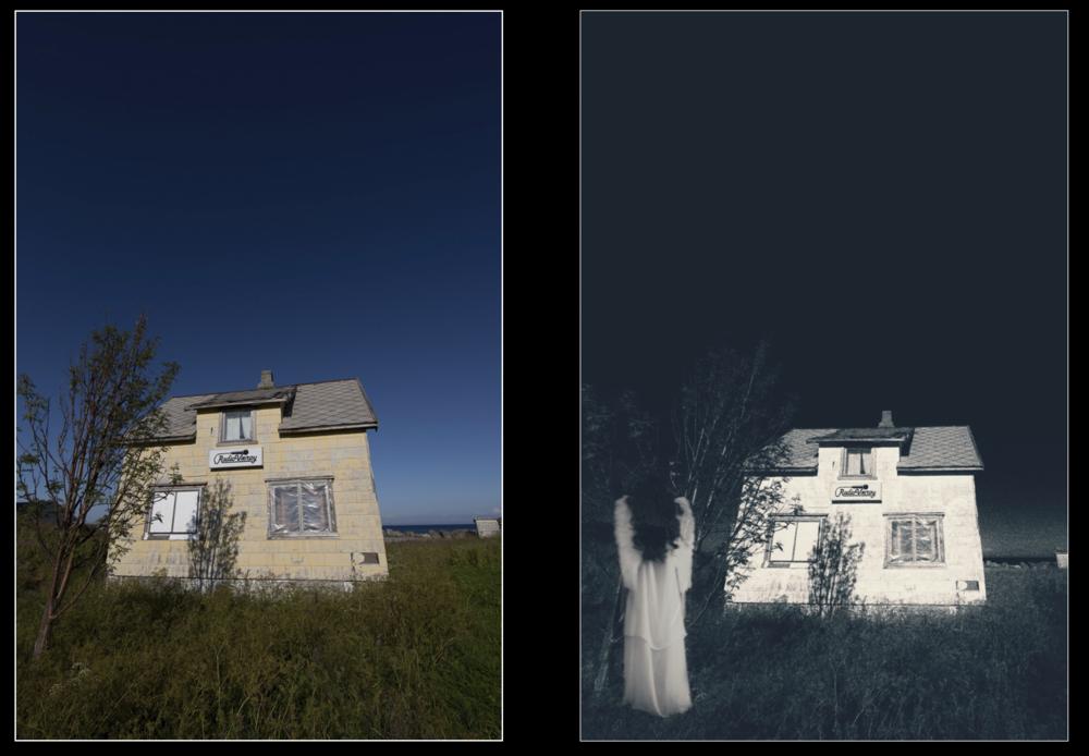 Collageteknikk med mobil/nettbrett. ©Bjørn Joachimsen