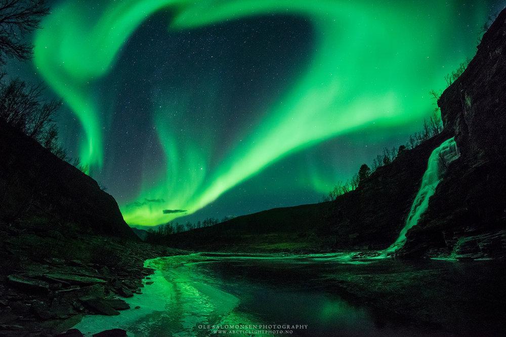 Aurora Borealis. ©Ole Christian Salomonsen.