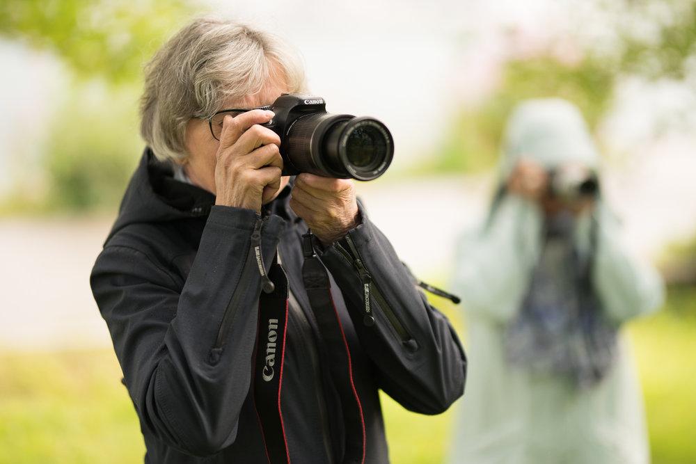 Seniorfotokurs! Lære grunnleggende om fotografering og bli bedre kjent med ditt eget kamera. ©Bjørn Joachimsen.