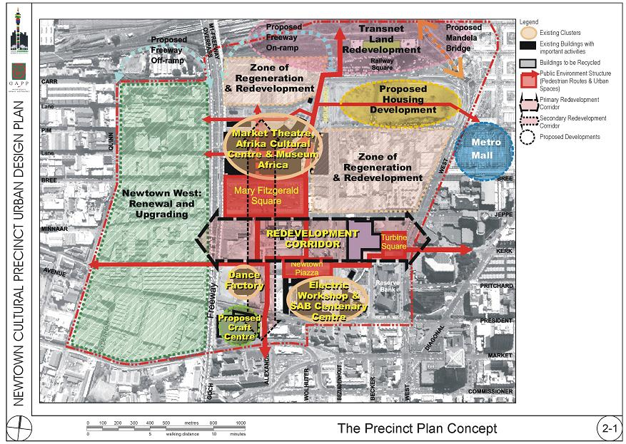 The Urban Design Plan for the area circa 2002