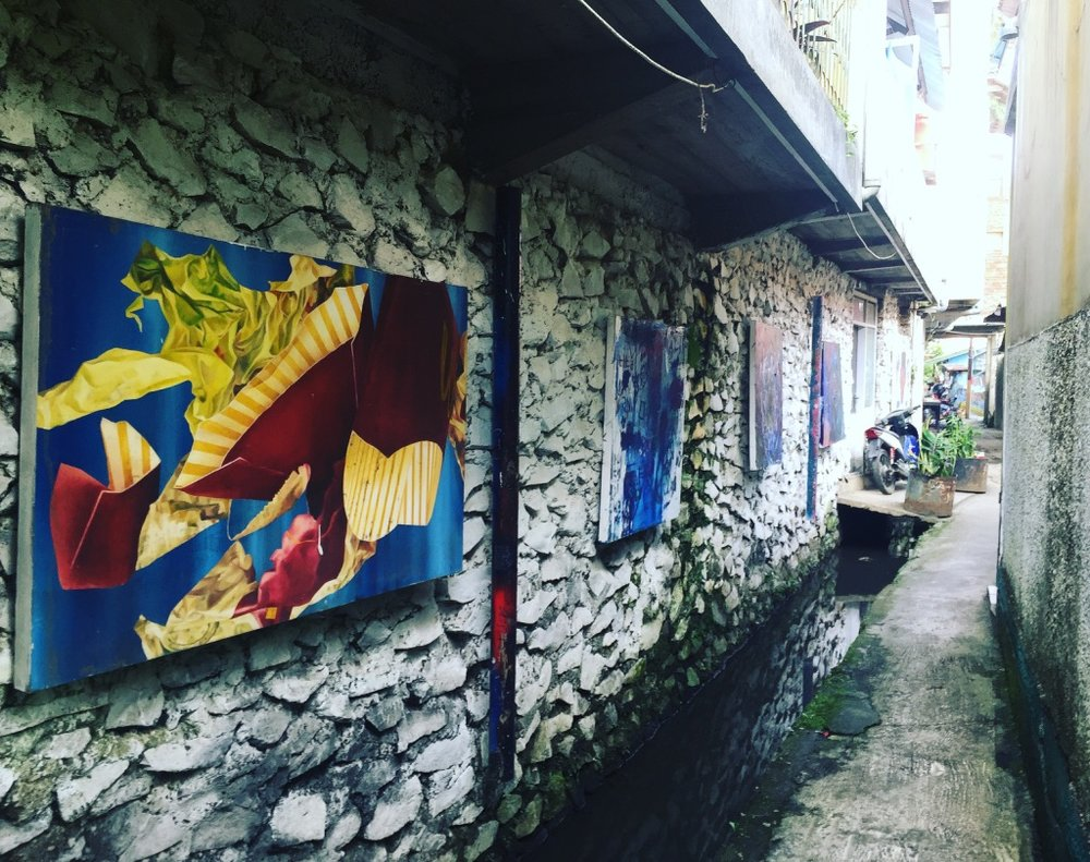 A Kreatif Kampung in Bandung