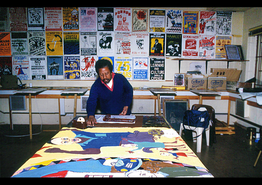 Lionel Davis at CAP Media.  Photo from the CAP Archives