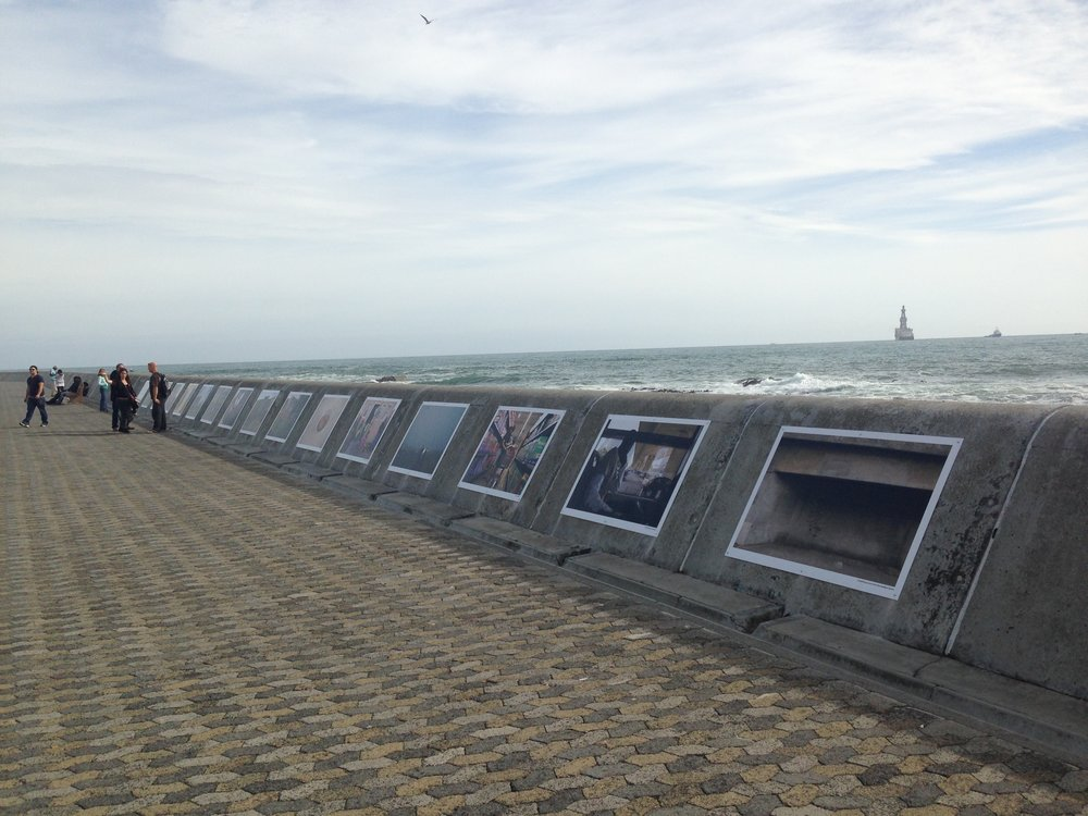 Public Art works on the Sea Point Promenade as part of a controversial pilot projec t used to develop the Arts and Culture Department's Public Art Management Framework.