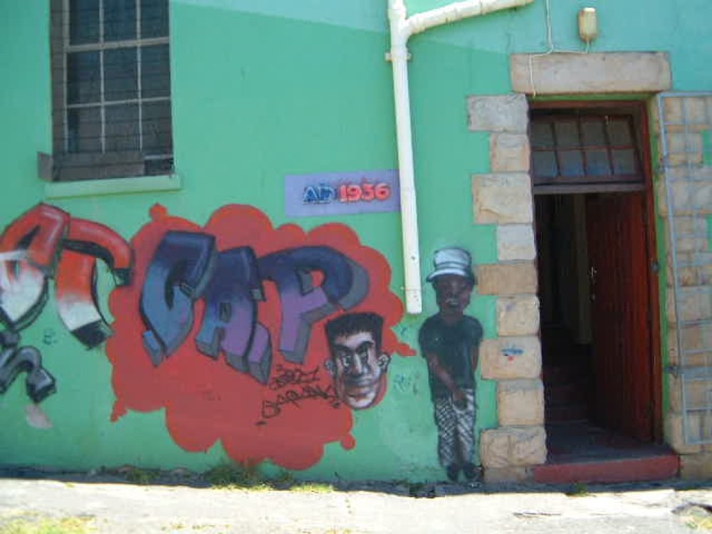 The Community Arts Project in Cape Town.  Photo taken in 2000