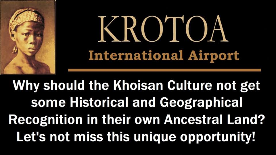 A meme currently doing the rounds on social media calling for the airport to be named after a Khoi woman who has a history with the arrival of the Dutch - Krotoa