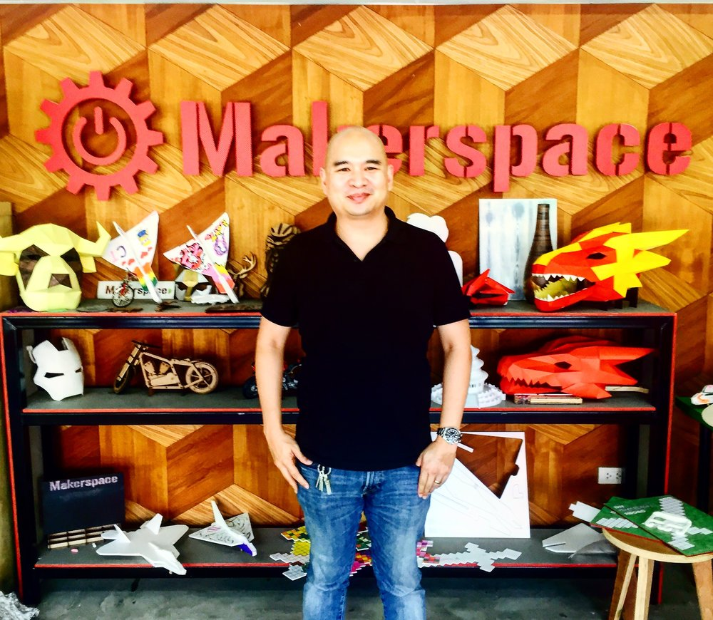 Nati Sang, director of the highly acclaimed Thailand Maker Space