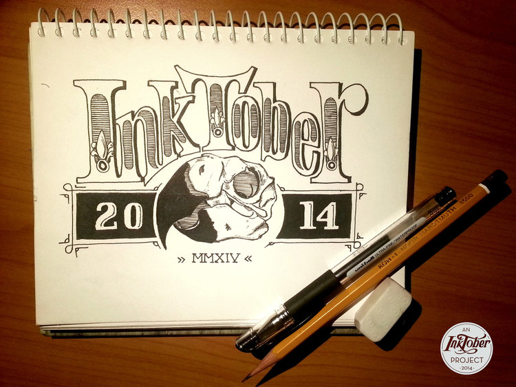 publicity image from Inktober 2014